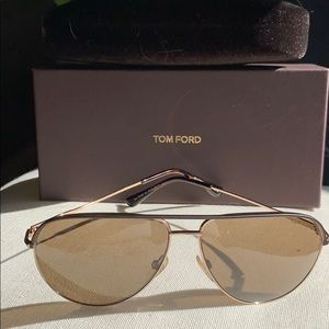 Tom Ford Aviators NEW W Box and case